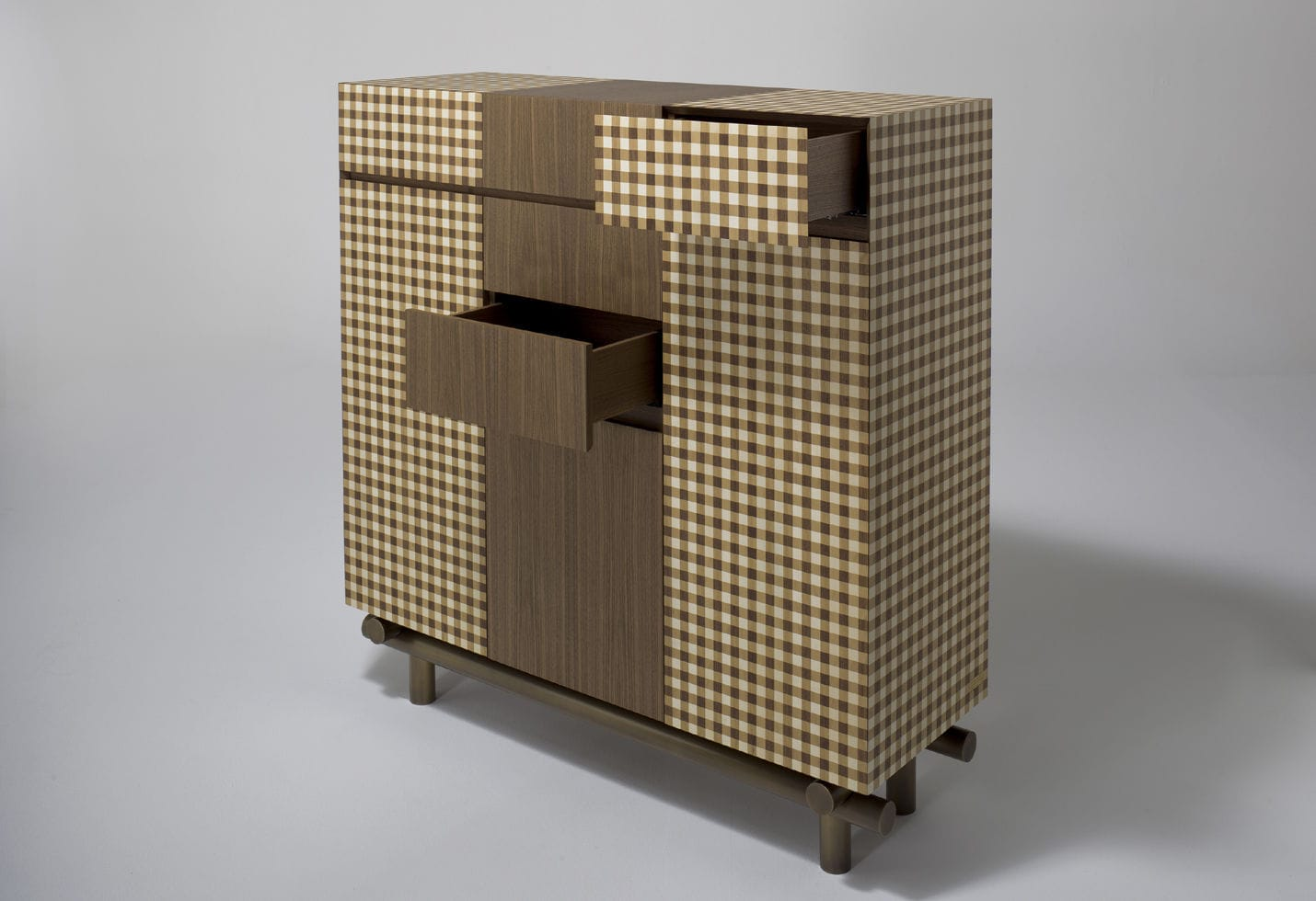 Credenza Legno Rustica : Credenza alta classica in legno di ferruccio laviani rustica
