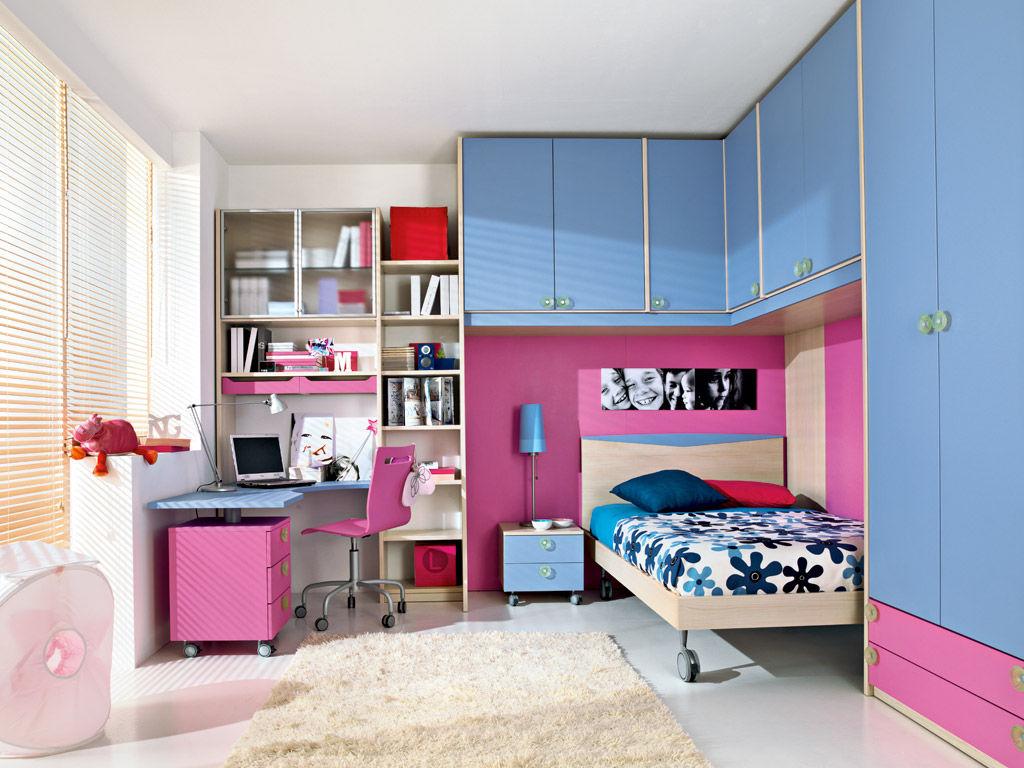 Cameretta Arancione E Rosa : Cameretta rosa per bimba p faer ambienti