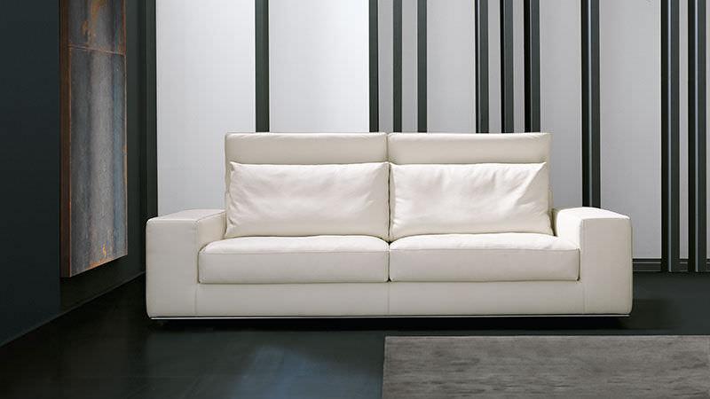 divano d'angolo / moderno / in pelle / 2 posti - blow up by studio ... - Moderno Ampio Angolo Divano In Pelle A 5 Posti