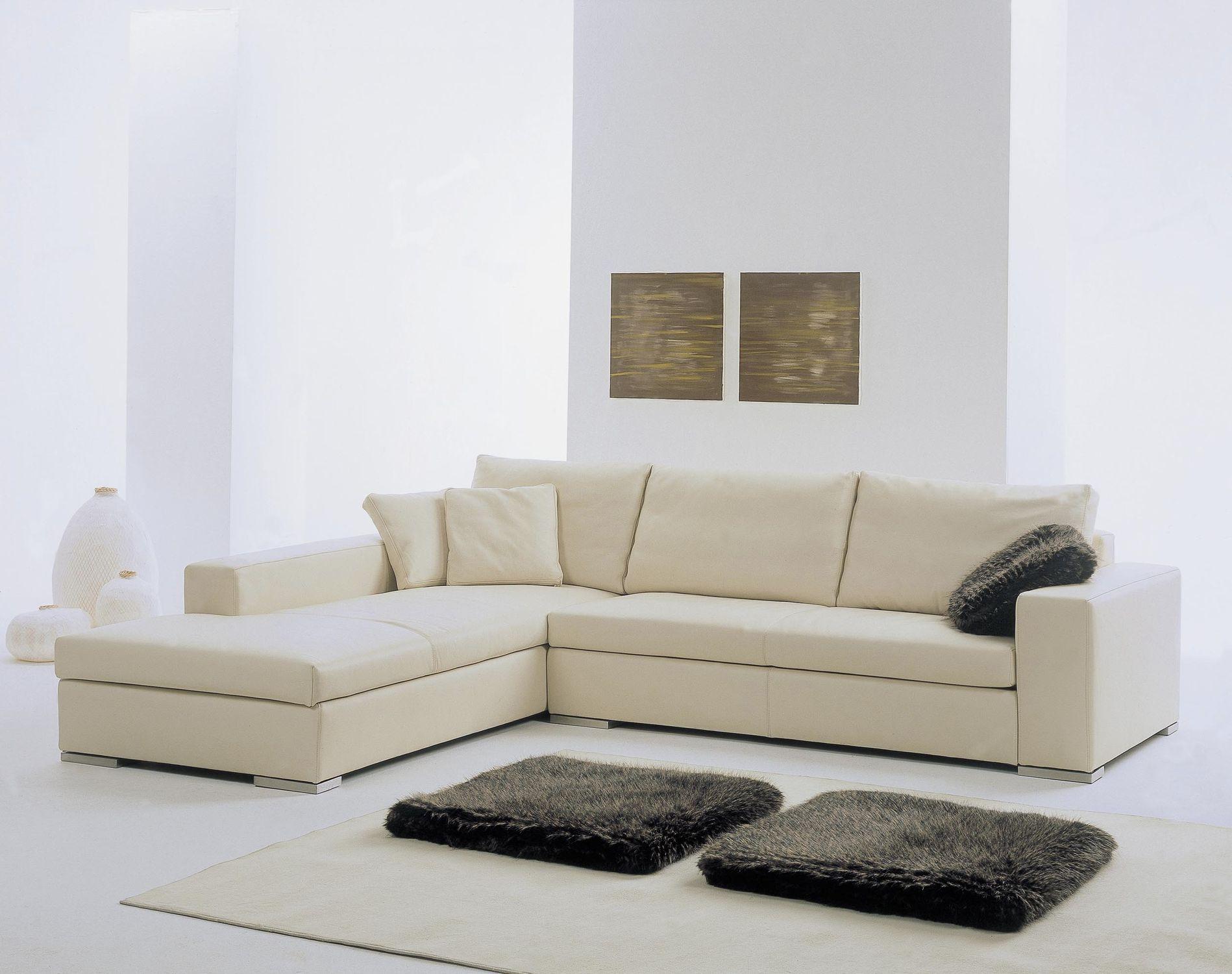 Divano d\'angolo / modulare / moderno / in tessuto - DOMINO - Gyform
