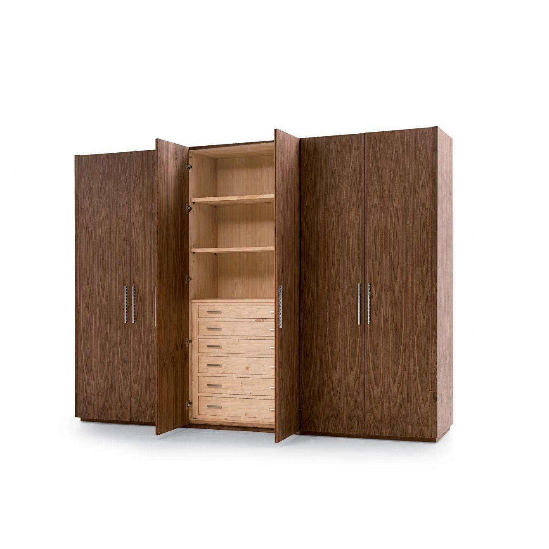 Armadio modulare / moderno / in legno massiccio / in cedro - FOUR ...
