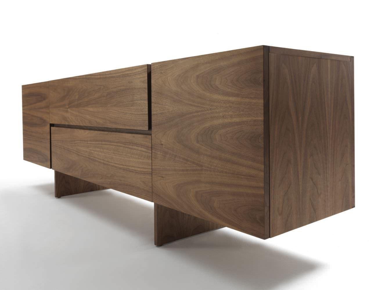 Credenza Moderna In Legno Massello : Credenza moderna in legno massiccio aki by bartoli design