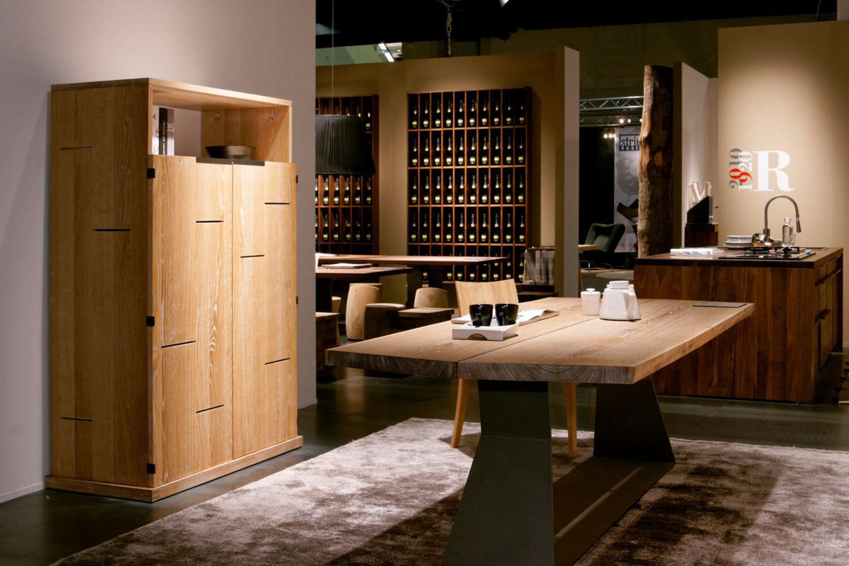 Credenza Alta Per Cucina : Credenza alta moderna in legno anima by terry dwan riva