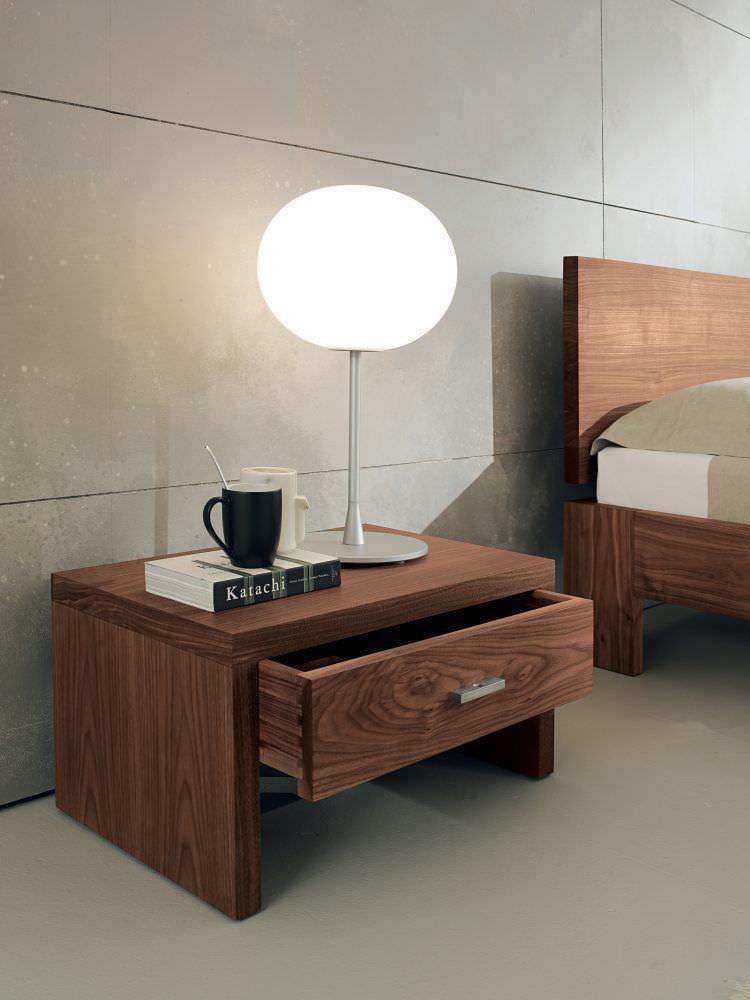 Letto standard / doppio / moderno / in legno massiccio - NATURA ...
