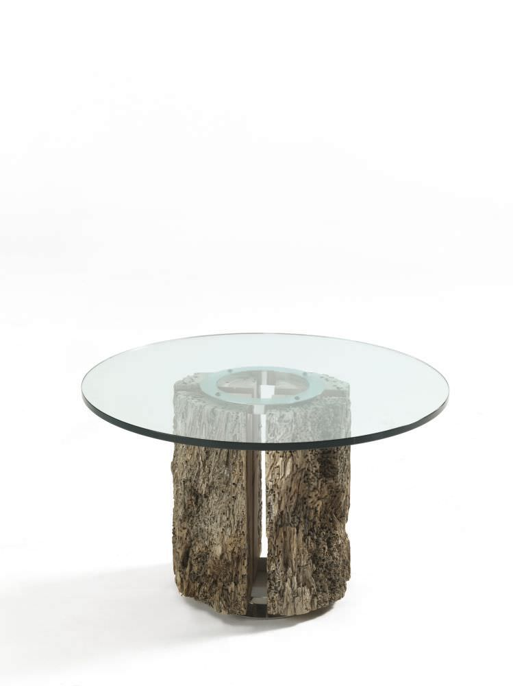 Tavolo Rotondo Moderno In Vetro.Tavolo Rotondo Moderno In Vetro Decoupageitalia