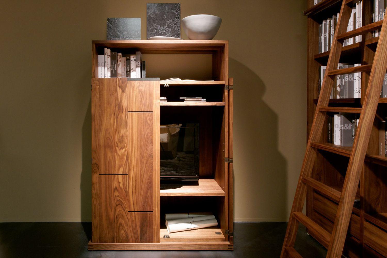 Credenza Moderna Miglior Prezzo : Credenza alta moderna in legno anima by terry dwan riva