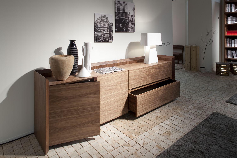 Credenza Moderna Legno Massello : Credenza moderna in legno massiccio soft by carlo colombo