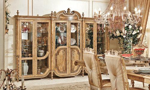 Credenza Con Alzata In Stile : Credenza con alzata in stile legno hermitage riva mobili