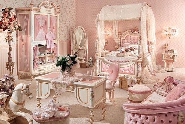 Cameretta rosa / per bimba - DOLLY - Riva Mobili D\'Arte