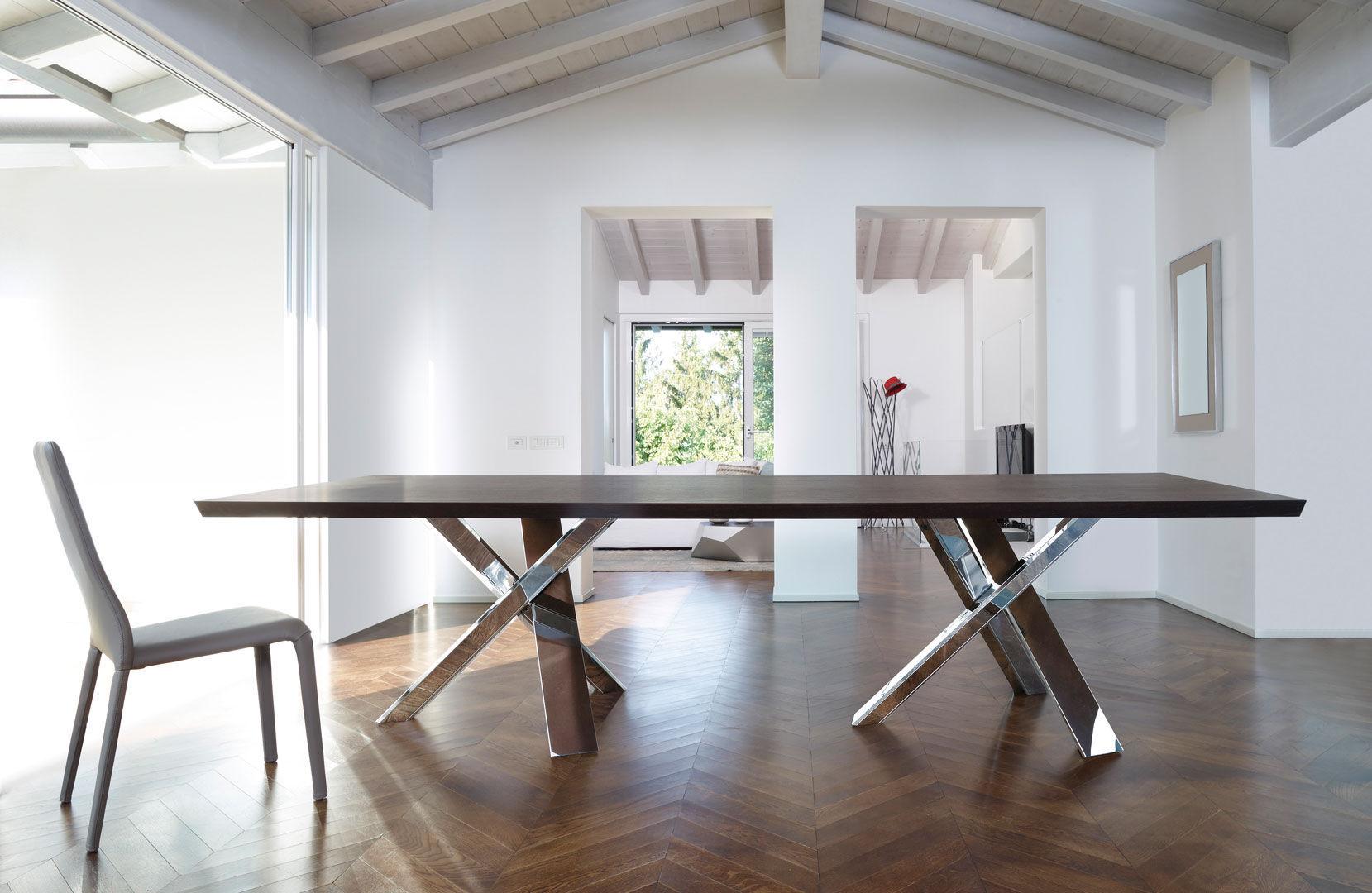 Tavolo Da Pranzo In Vetro : Tavolo da pranzo moderno in legno in vetro in legno laccato