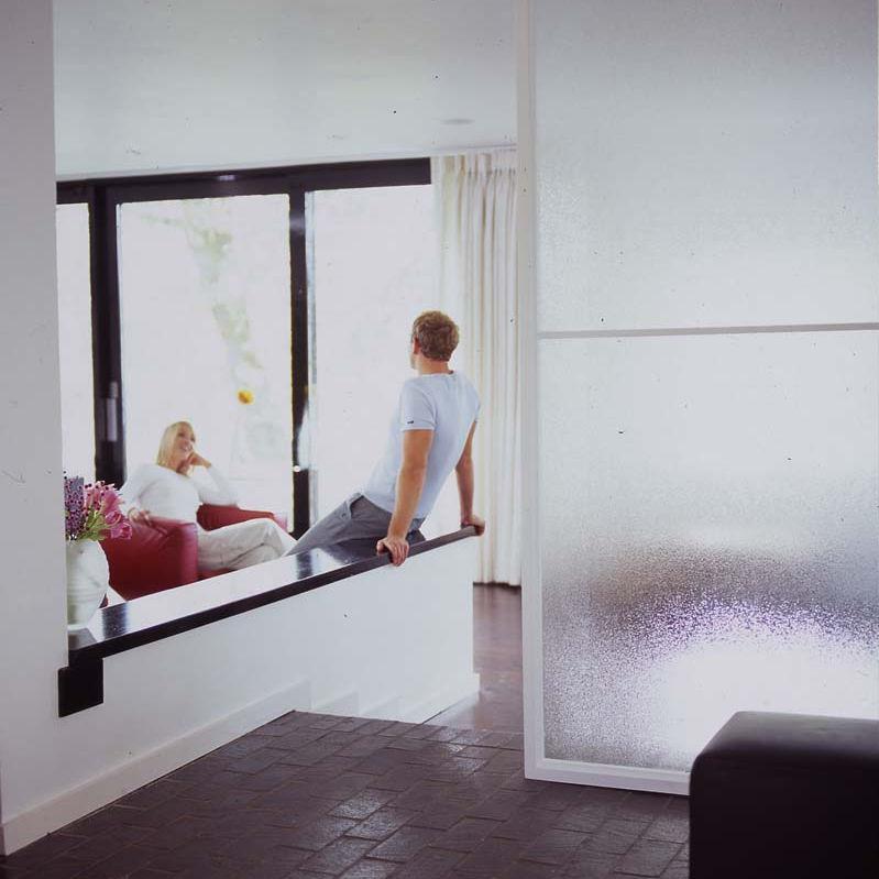 Pannello in vetro per arredamento di interni / per porta / per ...
