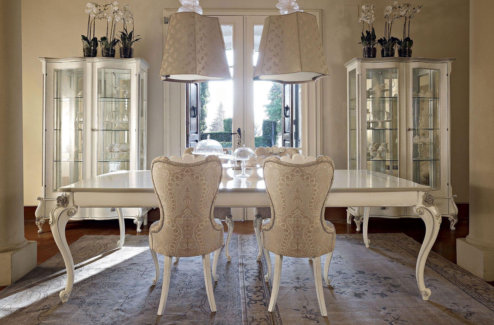 Credenza Con Alzata In Stile : Credenza con alzata in stile vetro legno capri volpi