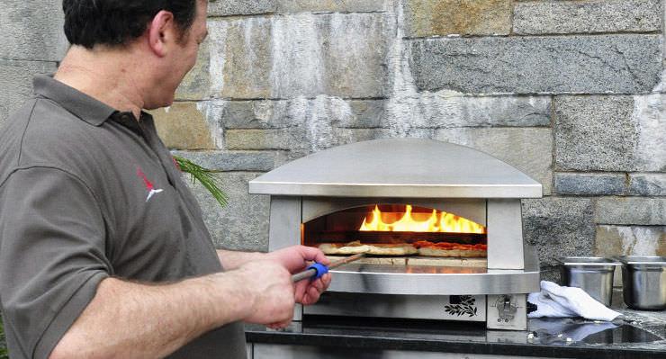 Forno a gas / a pizza / da giardino - AFPO - KALAMAZOO OUTDOOR ...