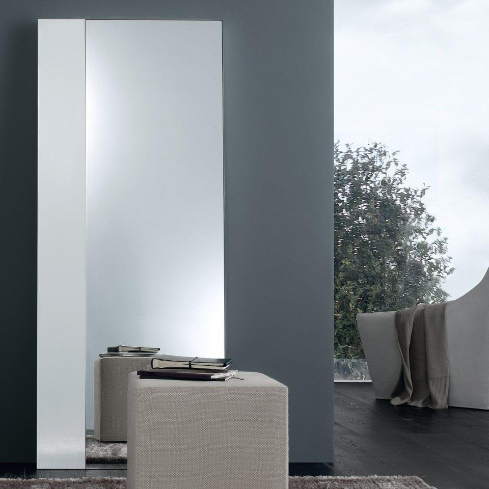 Specchi Moderni Da Parete.Specchio A Muro Moderno Rettangolare In Metallo Strip By