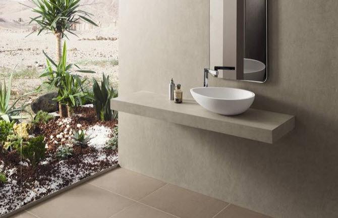 piastrella da bagno da pavimento in gres porcellanato opaca geoquartz dover