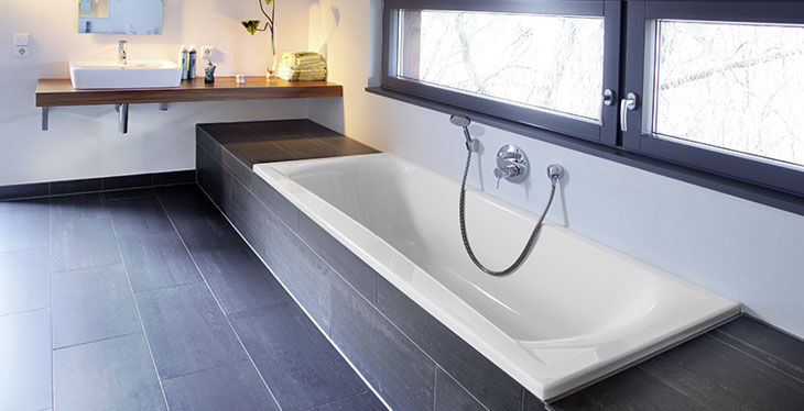 Vasca Da Bagno 150 80 : Vasca da bagno in acrilico doppia arosa repabad