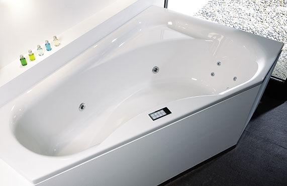 Vasca Da Bagno Lunghezza : Vasca da bagno d angolo in acrilico tika repabad video