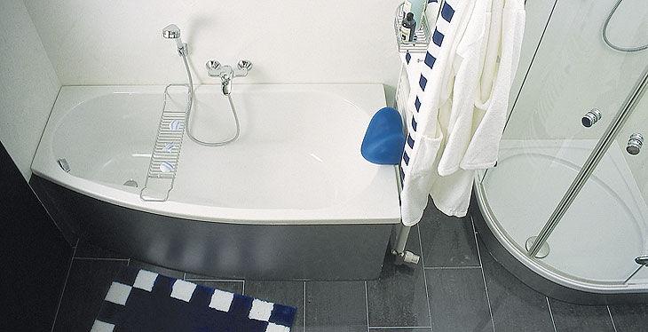 Vasca Da Bagno Bassa : Vasca da bagno d angolo in acrilico kampen repabad