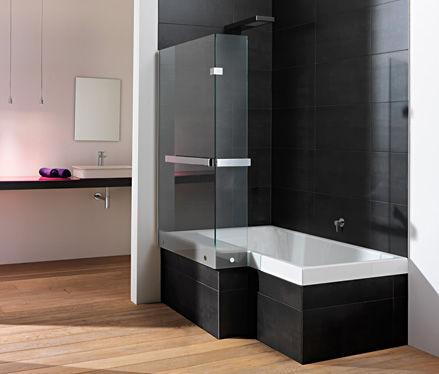 Vasca da bagno doccia da incasso / rettangolare / in acrilico ...
