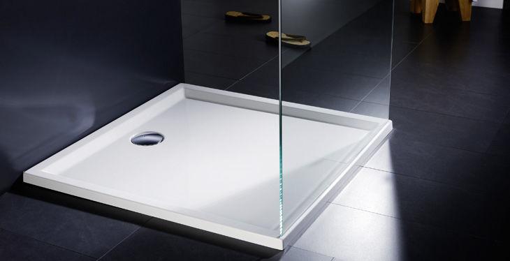 Vasca Da Bagno Quadrata 100x100 : Piatto doccia solution in marmoresina quadrato ultrasotti