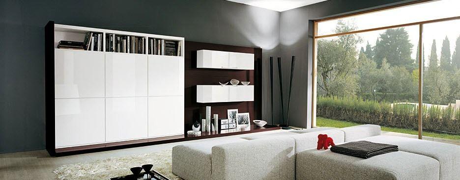 Parete attrezzata per soggiorno moderna - GATE_P. 46-47 - ORME