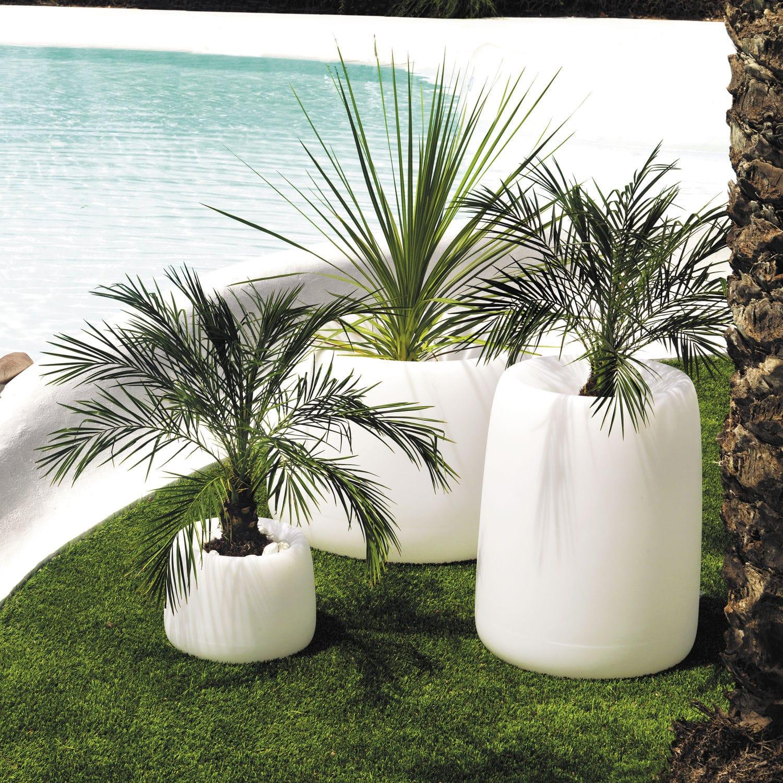 Vaso da giardino in polietilene   organic   vondom