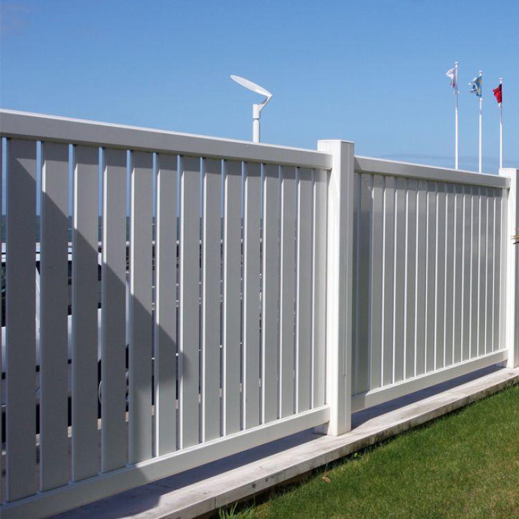 Recinzioni da giardino in alluminio