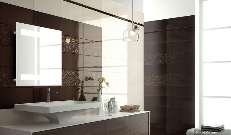 Bagni Piastrelle Nere : Piastrelle bagno bianche e nere interesting bagno bianco e nero