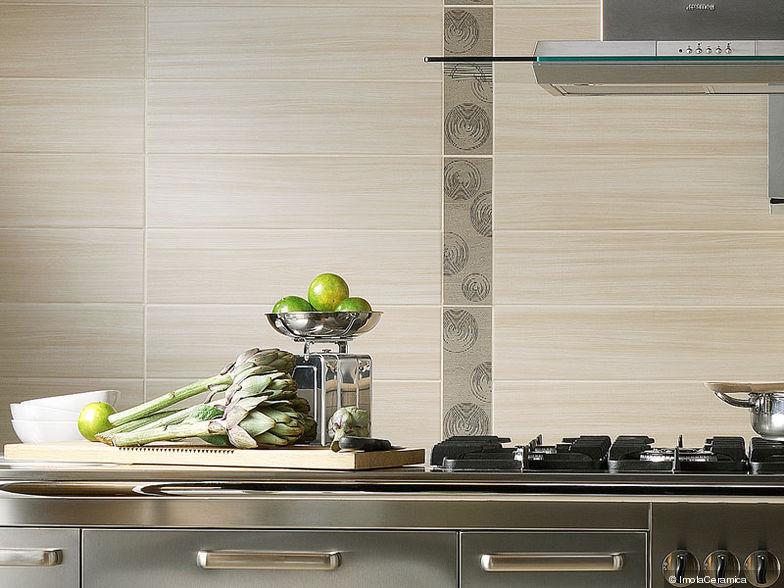 Piastrella da cucina / a muro / in gres porcellanato / smaltata ...