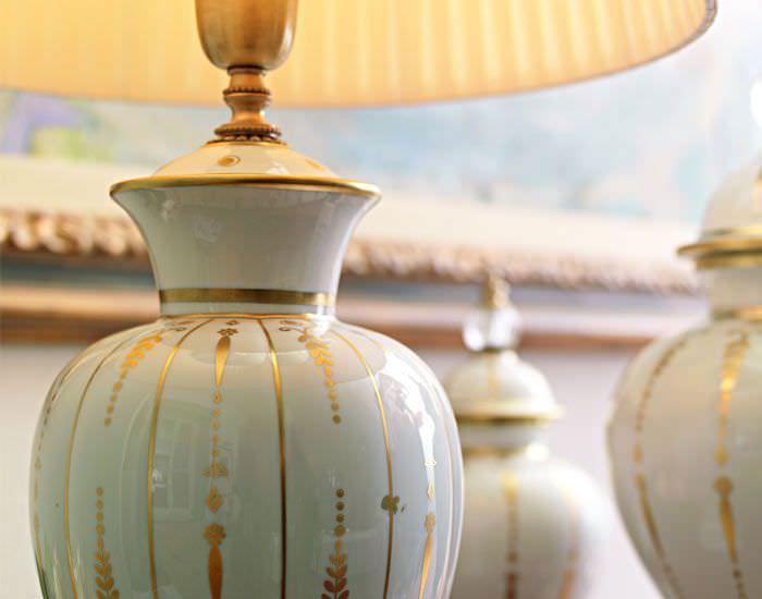 Lampada da tavolo / classica / in porcellana / da interno - FASCIA ...