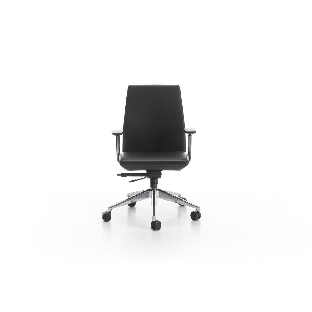 Sedia da ufficio moderna / con braccioli / con rotelle / regolabile ...