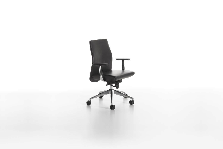 Sedie Da Ufficio Con Rotelle : Sedia da ufficio moderna con braccioli con rotelle