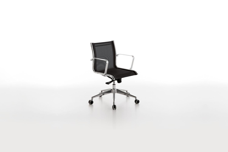 Sedie Da Ufficio Con Rotelle : Sedia da ufficio moderna regolabile girevole con rotelle