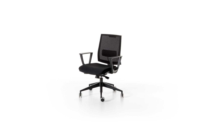 Sedie Da Ufficio Con Rotelle : Sedia da ufficio moderna girevole regolabile con rotelle