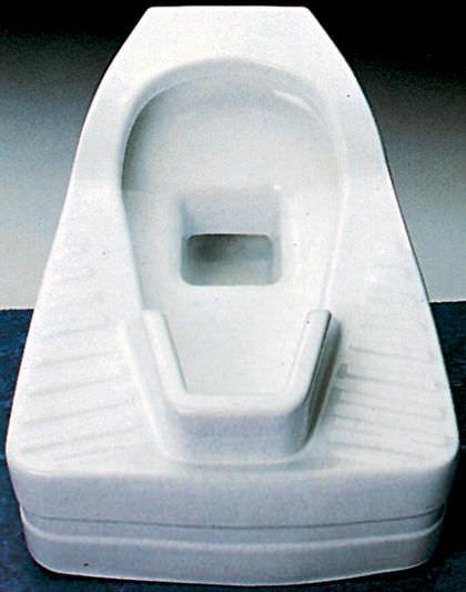 Alla turca / in ceramica / per bagno pubblico - EDEN - Cosmogres
