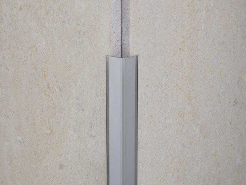Profilo di finitura in pvc per piastrelle per angolo esterno