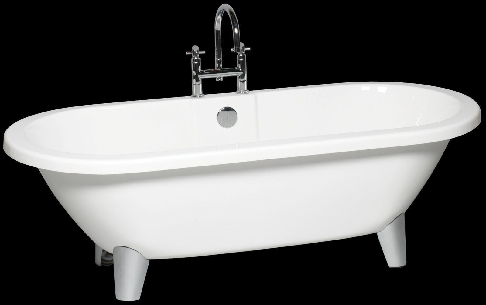 Vasca Da Bagno Freestanding In Acrilico : Vasca da bagno su piedi ovale in acrilico diana bba srl