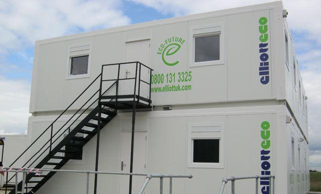 Container Per Ufficio Usati : Costruzione di container commerciale per edifici aperti al