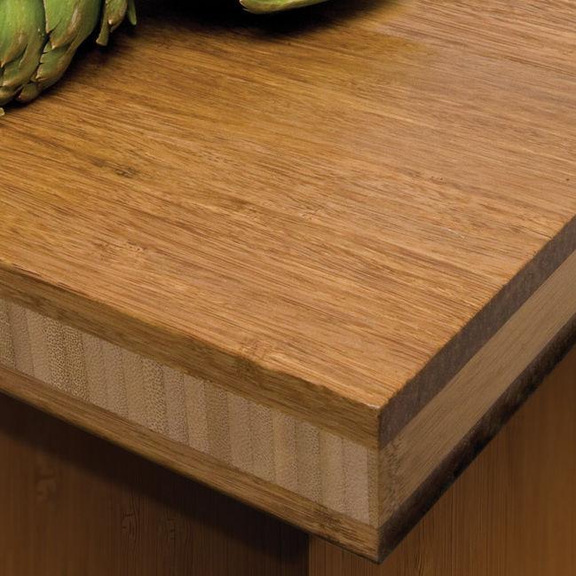 Piano di lavoro in bambù / da cucina - STRAND - Teragren Bamboo ...