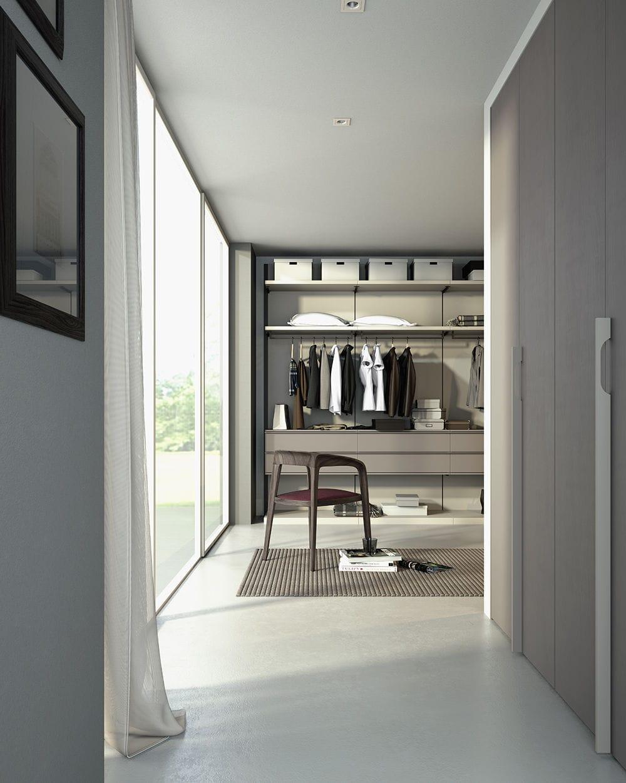 cabina armadio ad angolo / moderna / in legno laccato - 01 - giessegi - Design Moderno Cabina Armadio