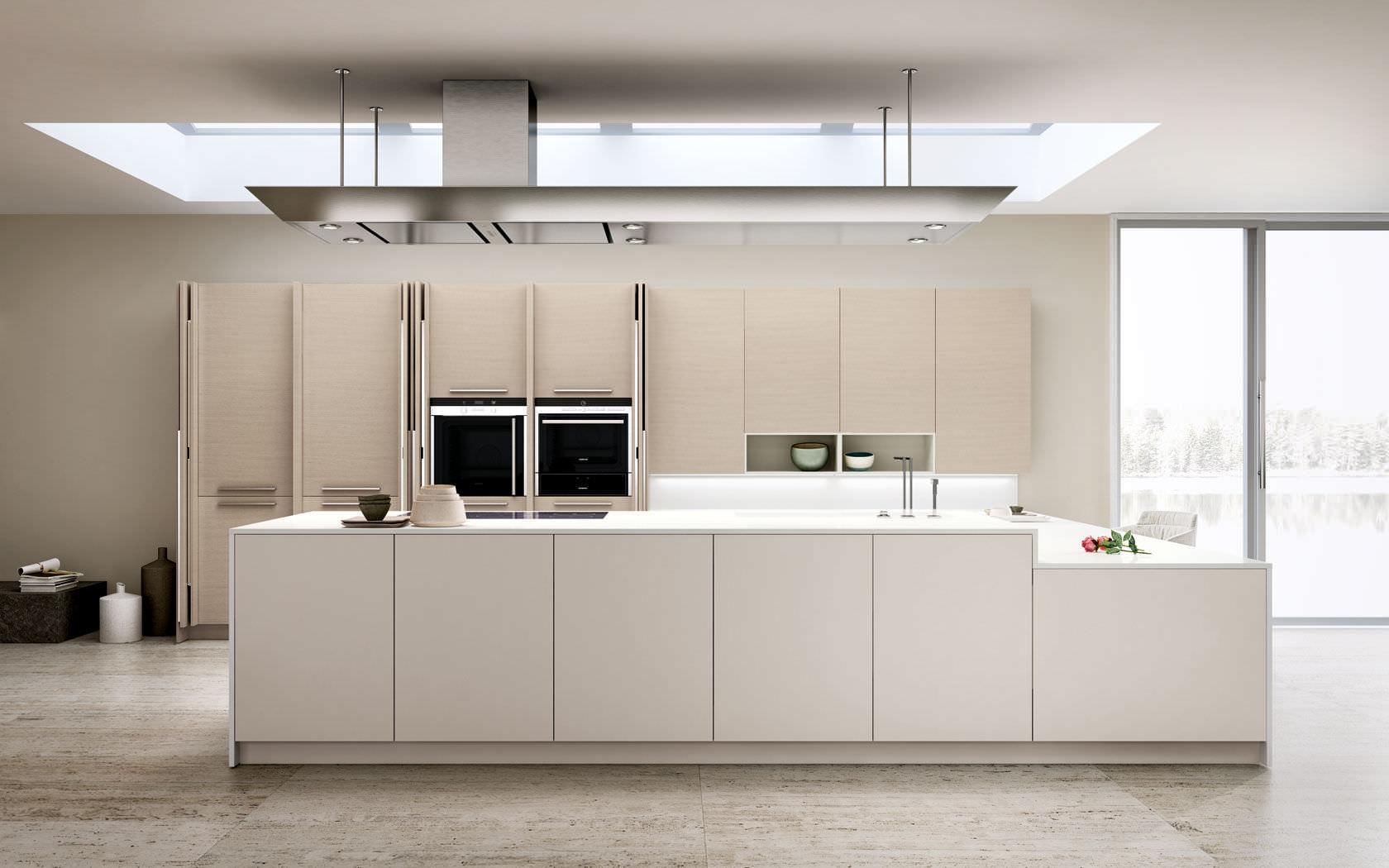 Cucina moderna / in legno / laccata - OPAL REGULA - Lineaquattro