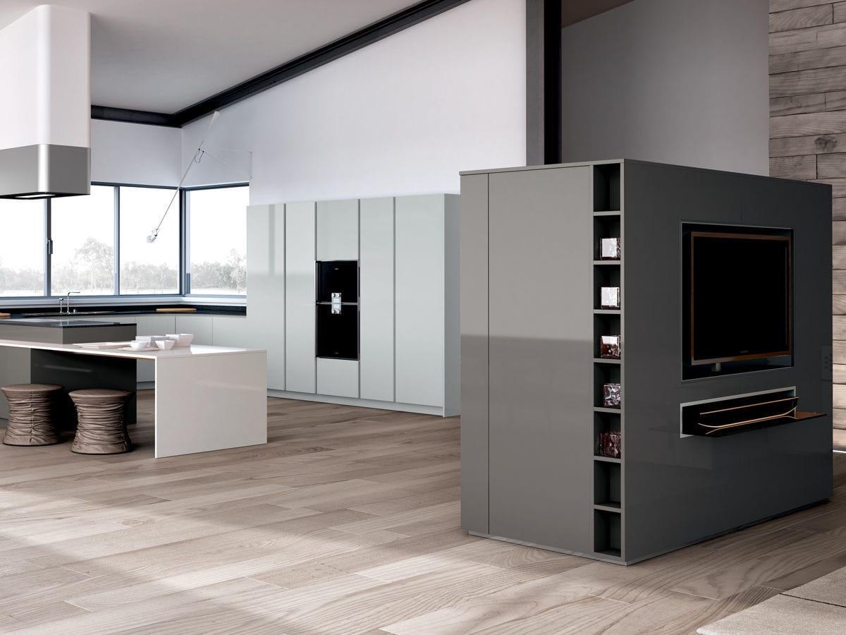 Cucina moderna / in legno / laccata - OPAL PURA - Lineaquattro