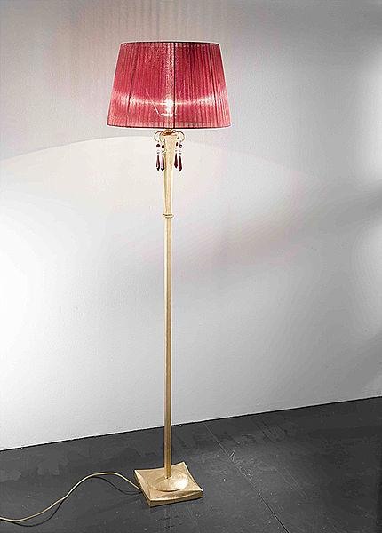 Lampada da terra / classica / in ferro modellato / da interno ...