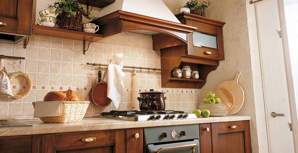 Cucina classica / in legno / in legno massiccio   borgo antico 01 ...
