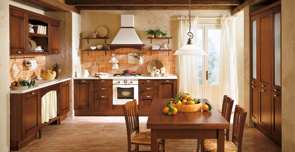 Cucina classica / in legno massiccio / in legno - BORGO ANTICO 02 ...