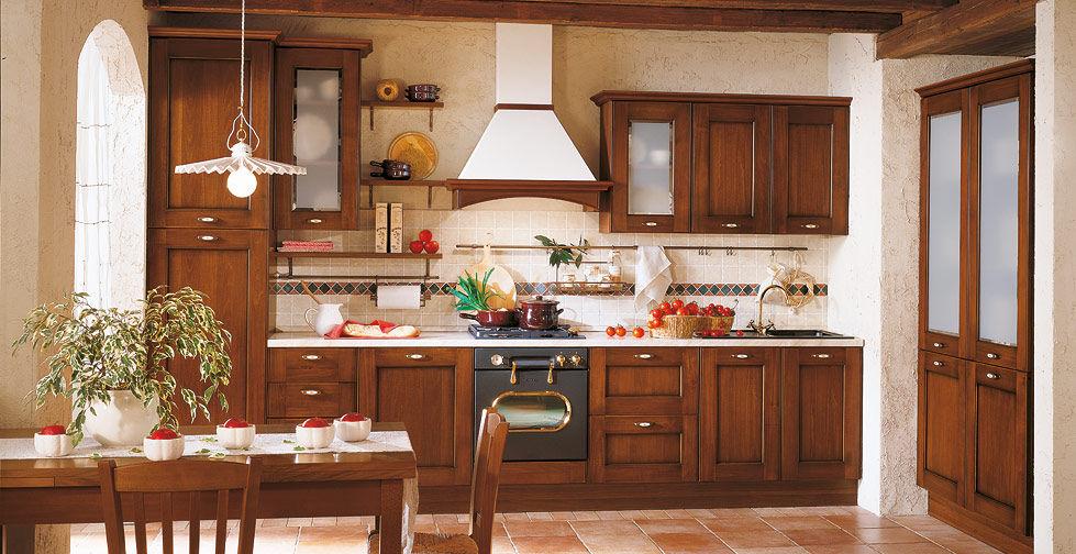 Cucina classica / in legno massiccio / in legno - BORGO ANTICO 03 ...