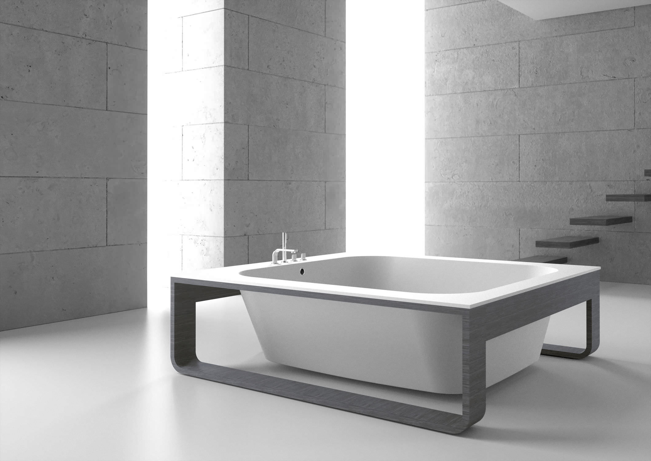 Vasche Da Bagno Quadrate : Vasca da bagno karen vasca da bagno quadrata siefreach