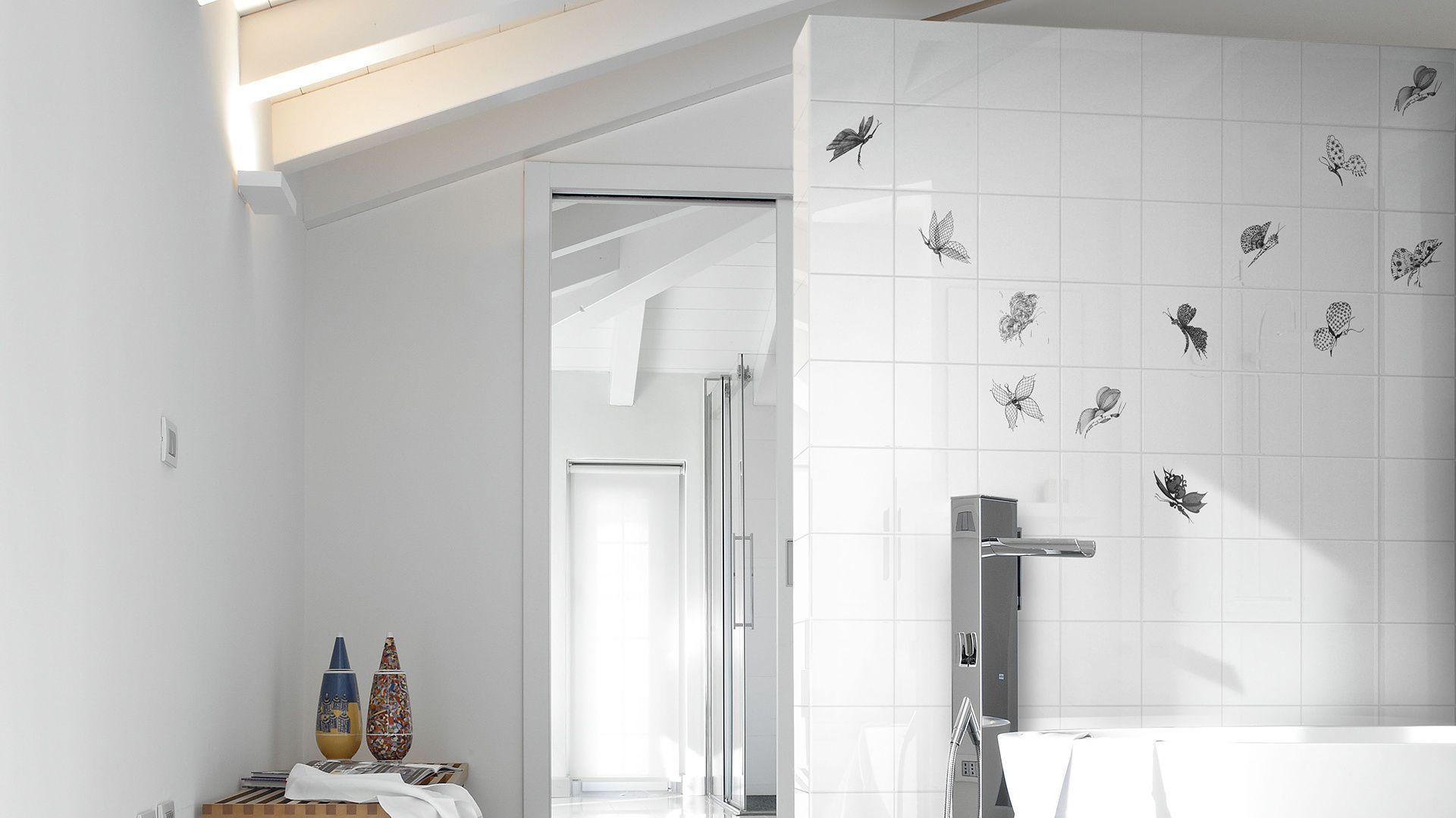 Piastrella da interno da bagno da parete in ceramica madama