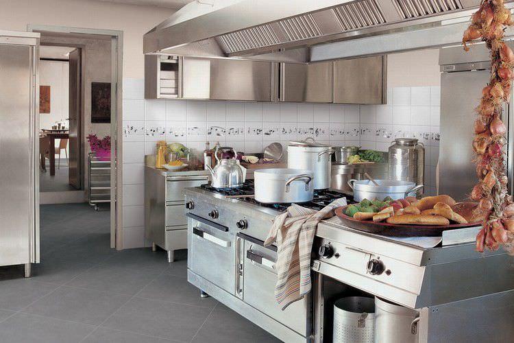 piastrella da cucina / da pavimento / in ceramica / a motivi ... - Ceramica Cucina