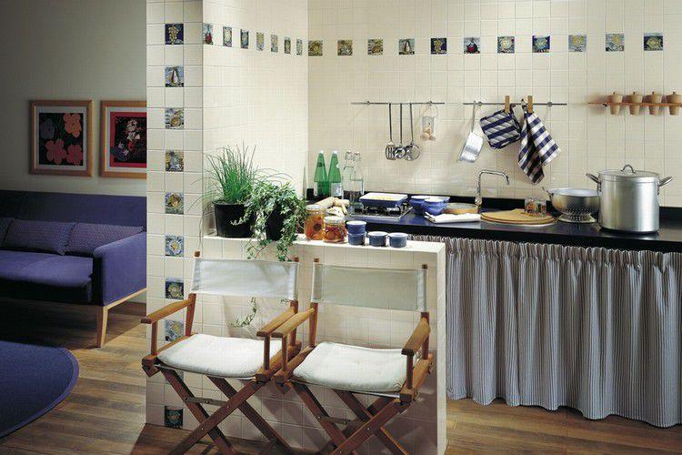 Piastrella da interno / da cucina / da parete / in ceramica ...